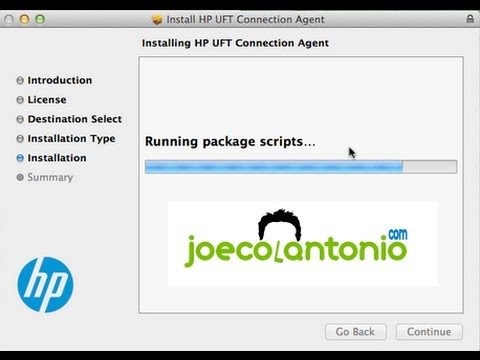 HP UFT 12 - How to run a UFT GUI test on a Mac - YouTube