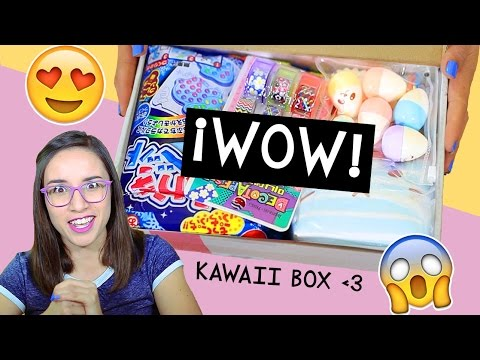 Thumbnail: ¡La caja más kawaii del mundo! SORTEO + Review - Kawaii Box ✎ Craftingeek