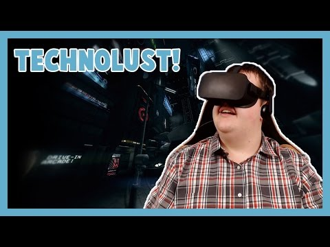 VR CYBERPUNK ADVENTURE - Technolust with the Oculus Rift CV1!