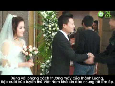 Bầu Kiên mừng đám cưới Thành Lương  dc