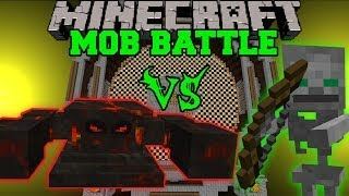 SUN BOSS VS SKELETON FRIEND - Minecraft Mob Battles - Sun