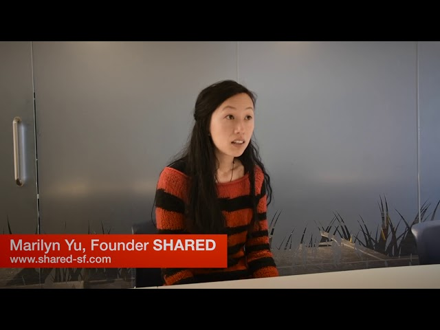 Marilyn Yu, Founder Shared Co-Working.