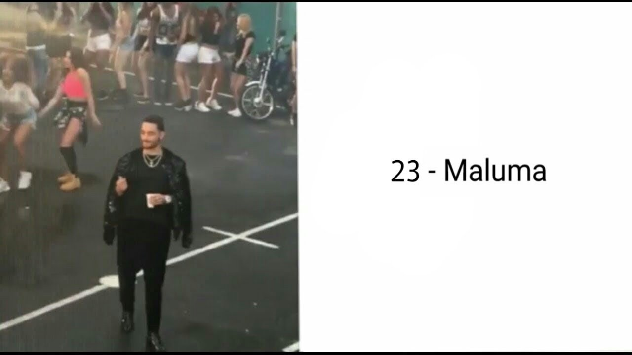 Maluma - 23 (Letra + Vídeo) (Nuevo 2017)