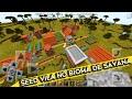 Minecraft PE 0.15.0 - Seed da Nova Vila no Bioma de Savana! (MCPE SEED)