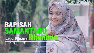 LAGU MIANG TERBARU 2019 _ BAPISAH SAMANTARO _LAGU POP  RHENIMA