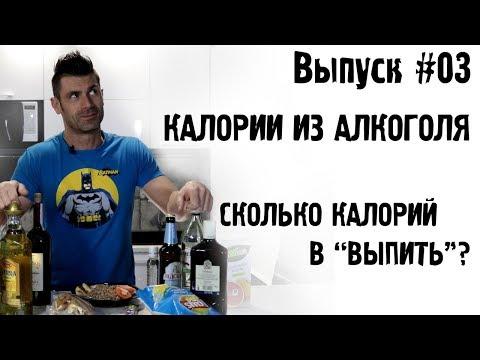 """#03 Калории из алкоголя. Сколько калорий в """"выпить""""?"""