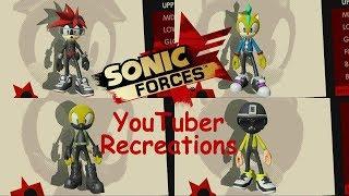 vuclip Markiplier, Jackseticeye, Vanossgaming and Life of Boris Avartar Recreations - Sonic Forces