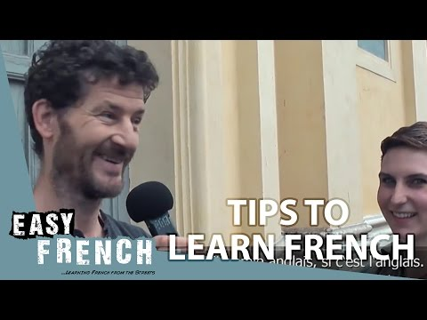Easy French 11 - Tips to learn French