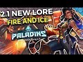 "2.1 Paladins Update Gameplay and LORE! ""Fire and Ice"" Full Audio Reading (Unofficial Audiobook)"