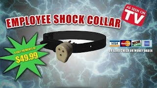 Company Introduces Shock Collars To Keep Workers In Line