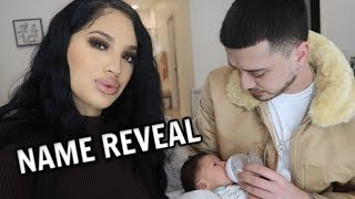 Download BABY E'S NAME REVEAL!!!! Mp3 and Videos