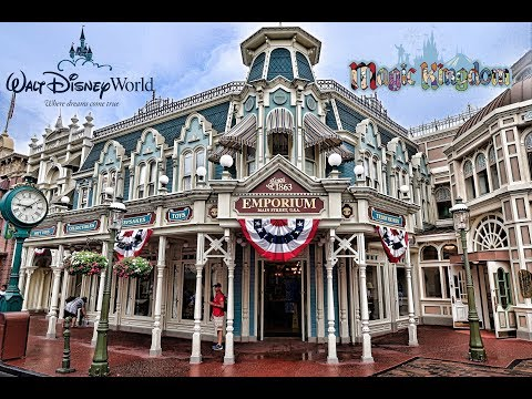 Disney's Magic Kingdom Emporium Gift Shop Tour and Walk Through 7/31/17