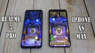 Realme 5 Pro vs iPhone XS Max | SpeedTest and Camera comparison