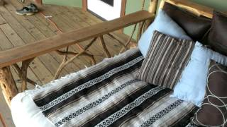 Porch Swing Bed On Www.godsrusticworkshop.com