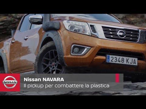 Nissan offre il suo pickup Navara per combattere il problema della plastica sulle spiagge