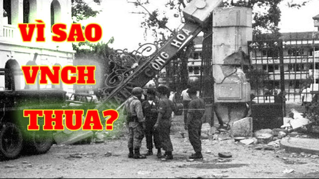Hé lộ lý do vì sao VNCH thua trận khiến thể chế Việt Nam Cộng Hòa sụp đổ