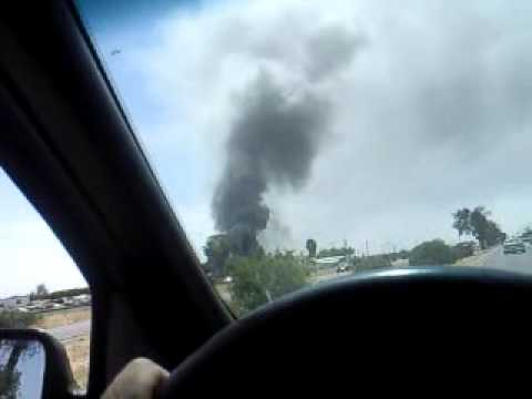 Turners Auto Wrecking >> Fire At Turners Auto Wrecking In Fresno Ca Youtube