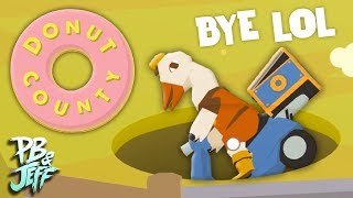 ATTACK OF THE HOLE! | Donut County (Part 1)