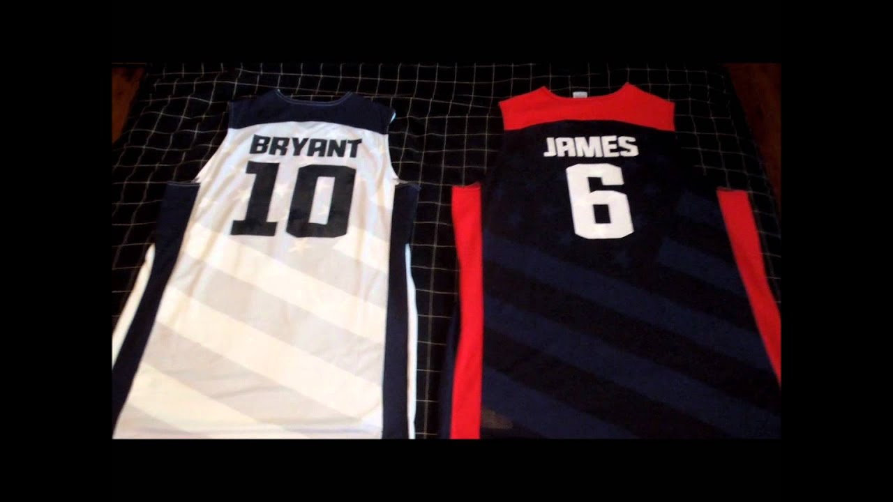 46905404f Team USA Basketball Jersey Review 2012 - YouTube