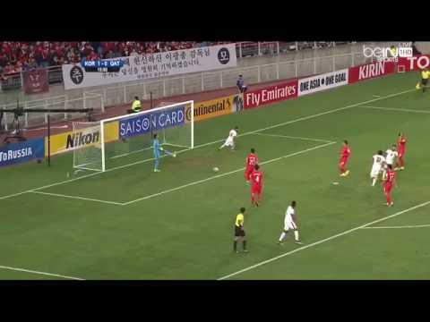 اهداف مباراة كوريا الجنوبية و قطر | هدف حسن الهيدوس ضد كوريا 6-10-2016 Hassan Al Haidos