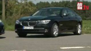 Porsche Panamera 3.0 Diesel vs. BMW 730d (F01)   -   Test Video .............Oeni