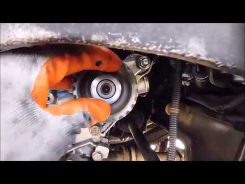 Honda Accord timing belt installation tips and tension procedure (1994 - 2002)
