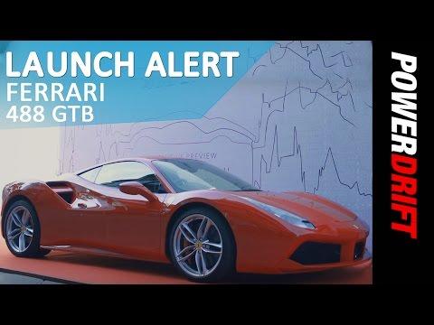 Ferrari 488 GTB   Launch Alert   PowerDrift