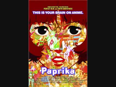 Paprika - The girl in Byakkoya poster