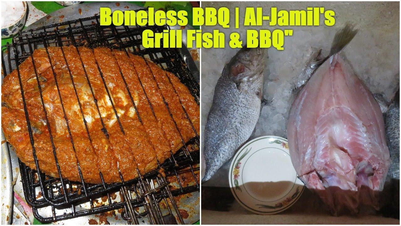 Boneless bbq al jamil for Boneless fish grill