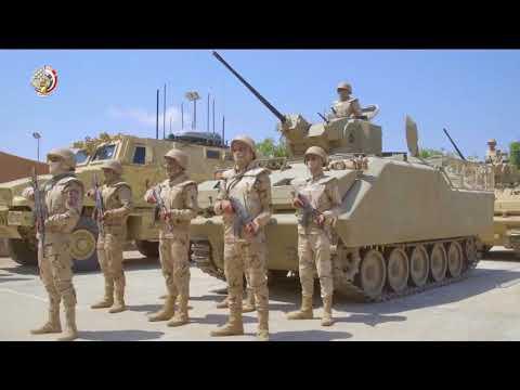 Egyptian army chasing terrorist in Sinai borders (unbelievable)!!!!!  القوات المصريه تحارب الأرهاب