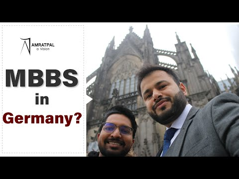 How to Study MBBS in Germany? Medicine in Germany| Exclusive from German University| By Amratpal