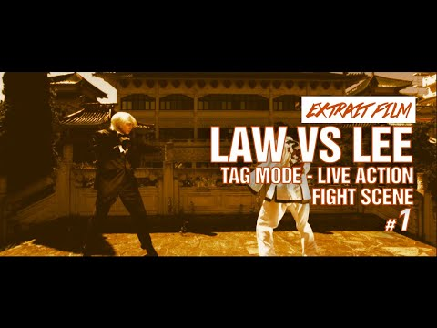 FIGHT SCENE 1 / Law VS Lee - Tag mode - Live Action / Kefi Abrikh