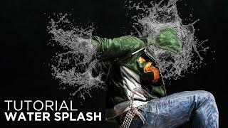 Photoshop Tutorial: Amazing Water Splash Effect