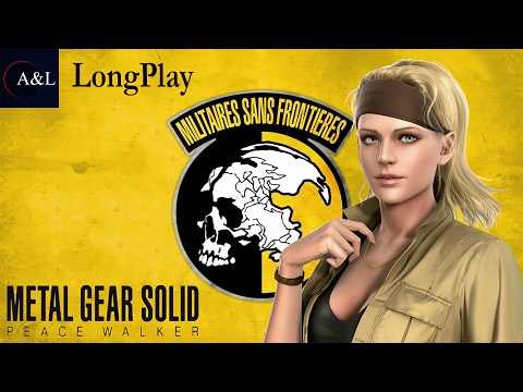 PSP - Metal Gear Solid: Peace Walker - LongPlay [2K]