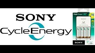 Огляд зарядного пристрою Sony і акумуляторів Sony Cycle Energy AA 2500 mah (Ni-MH)
