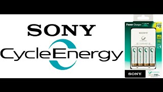 Обзор зарядного устройства Sony и аккумуляторов Sony Cycle Energy 2500 mah AA (Ni-MH)