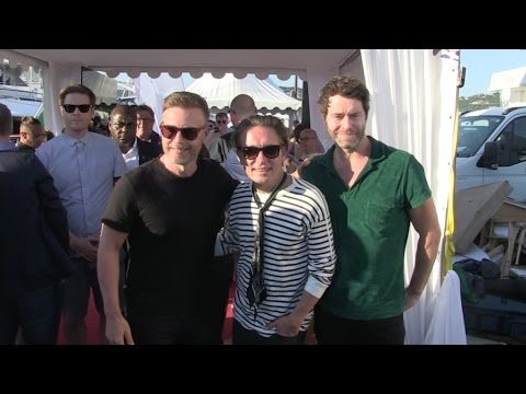 British superband Take That gives a private concert on the Sun Yacht in Cannes