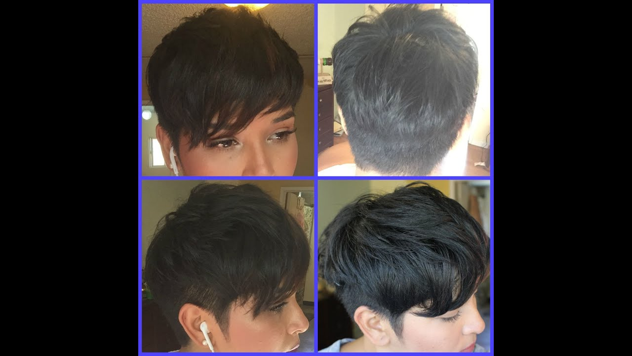 pixie haircut thick