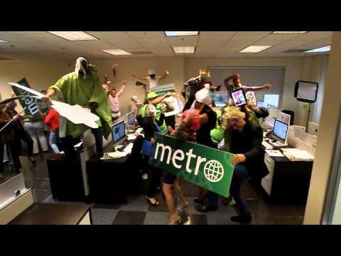 'Harlem Shake' de Metro Puerto Rico - YouTube