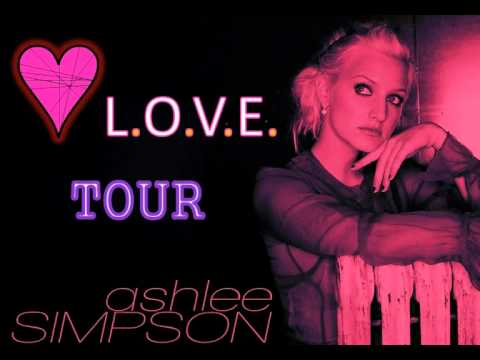 Ashlee Simpson - Catch Me When I Fall ( L.O.V.E. Tour LIVE ) *14