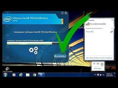Descargar Driver De Wifi Intel Para Windows |Intel® PROSet/Wireless|