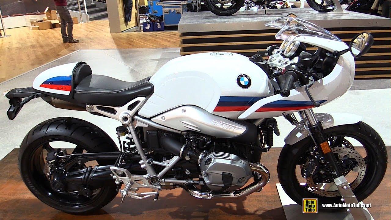 BMW Nine T >> 2017 BMW R Nine T Racer - Walkaround - Debut at 2016 EICMA Milan - YouTube