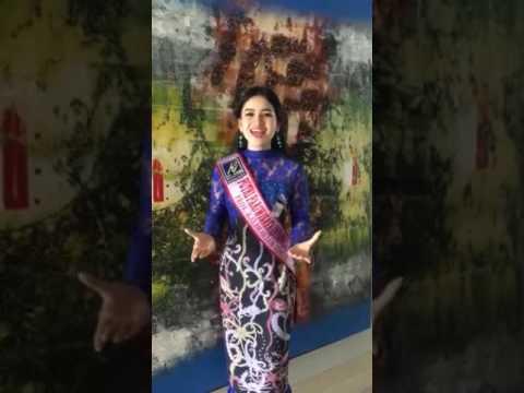 Putri Amelia Finalis Putri Pariwisata Indonesia Mtma