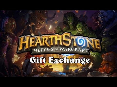 Hearthstone - Tavern Brawl - Gift Exchange - YouTube