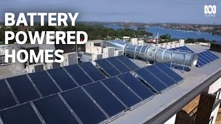 Battery Powered Homes  Renewable Solar Energy Storage