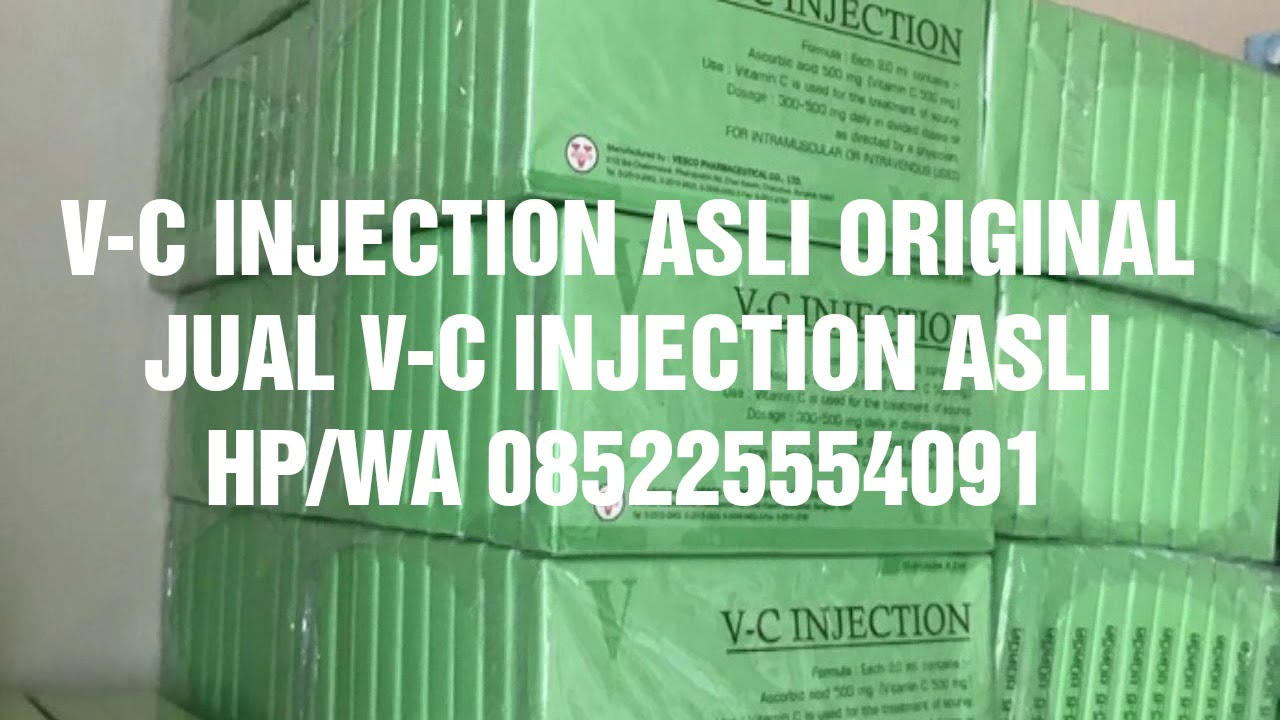 Harga Jual V C Injection Asli Vc Original 085225554091