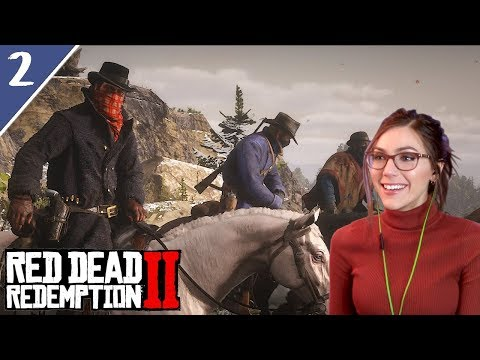 Train Heist & Hunting | Red Dead Redemption 2 Pt. 2 | Marz Plays