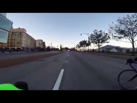 BikeMS NYC 2014 - Start through Holland Tunnel