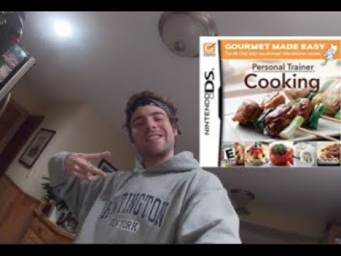CHALLENGE! How I Became An EXPERT COOK! On Nintendo DS! ...