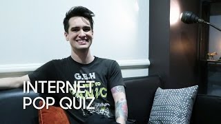 Internet Pop Quiz with Brendon Urie (Panic! At the Disco) Video